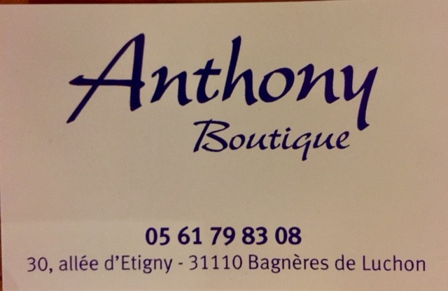 ANTHONY BOUTIQUE